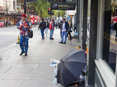 Charing Cross Road. 20181011T07-56-08Z (fitzrovialitter) Tags: england gbr geo:lat=5151170000 geo:lon=012839000 geotagged leicestersquare stjamessward unitedkingdom peterfoster fitzrovialitter city camden westminster streets urban street environment london fitzrovia streetphotography documentary authenticstreet reportage photojournalism editorial daybyday journal diary captureone olympusem1markii mzuiko 1240mmpro microfourthirds mft m43 μ43 μft ultragpslogger geosetter exiftool rubbish litter dumping flytipping trash garbage homeless beggar vagrant pavement