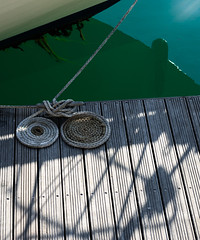 Signature Knot (Cirrusgazer) Tags: brighton brightonmarina england berth boats calm coil coils decking harbour knot marina mooring neat organised pier quay quayside reflection rope sea shadows sunlight tidy tied tiedup water waterfront wooden nautical
