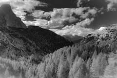Terre di contrasti... (giobertaskin) Tags: canon hdr bw mountain montagna terre terra contrasti contrasto