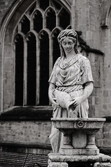 Water is Best (chabsh123) Tags: statue bath abbey england fuji bs