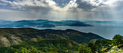 View from Pantokrator (andbog) Tags: grecia greece gr mediterranean mediterraneo landscape panorama paesaggio eλλάδα greek sea seascape shoreline coast costa overlook view vista vistapoint litorale mare widescreen layers sony alpha ilce a6000 sonya6000 emount mirrorless csc sonya nature natura mountain hill sonyα sonyalpha sony⍺6000 sonyilce6000 sonyalpha6000 ⍺6000 ilce6000 montagna apsc α6000 ελλάδα corfù kerkyra κέρκυρα ionianislands mountpantokrator παντοκράτοροσ manual mf manualfocus primelens manualfocusing samyang samyang12mmf20ncscs 12mmf20 12mm f20 wideangle handheld 21x9 219 sunbeam clouds nuvole