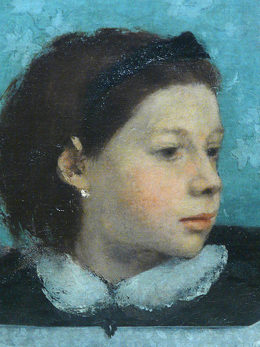 DEGAS Edgar,1858-67 - La Famille Bellelli (Orsay) - Detail 21