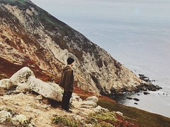 I think of you in colors that don't exist; (Beth Nieves ,) Tags: beachandforest forest california sanfrancisco lifeinaday adayinthelife dailylife plants youaretheocean beach film outside travel love live naturephotography landscapephotography ocean sea cliffs wanderer nature landscape