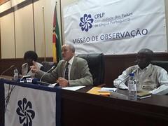 Conferência de Imprensa - Comunicação Preliminar de Constatações (38) (Comunidade dos Paises de Lingua Portuguesa) Tags: cplp moçambique observação eleições autárquicas