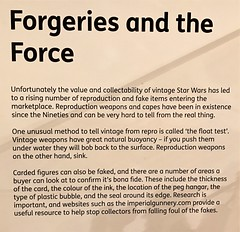 Some useful tips on this Information poster at #MayTheToysBeWithYou, Torquay Museum 19.08.17 (Trevor Bruford) Tags: star wars toy figure exhibition torquay museum maythetoysbewithyou