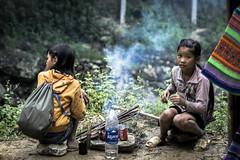 _DSC1315 (BisonAlex) Tags: 越南 vietnam sapa 沙壩 健行 trekking mountain rain could kid peoplelife dog market wood
