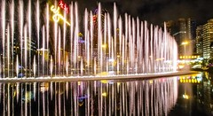 white curtain (werner boehm *) Tags: wernerboehm macao china fountain casino nightshot