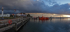 Evening in the harbour of Timmendorf (pe_ha45) Tags: timmendorf poel harbour hafen balticsea ostsee