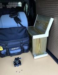 IMG_2293 (jalexartis) Tags: diy kit gear seat bench stand photographersseat photographer'sbench photographer'sstand van fordtransitconnect