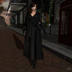 Marlene (Algezares (III)) Tags: ghee walk secondlife coat trenchcoat boots stylish elegant maitreya mesh lelutka
