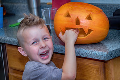 Charlie Bit My Finger 5271 (casch52) Tags: pumpkin food autumn halloween holiday october orange bite thanksgiving vegetable vegetarian season cute evil spooky scary bites decoration face tasty eating young pumpkins biting farm golden child boy actor cry crying