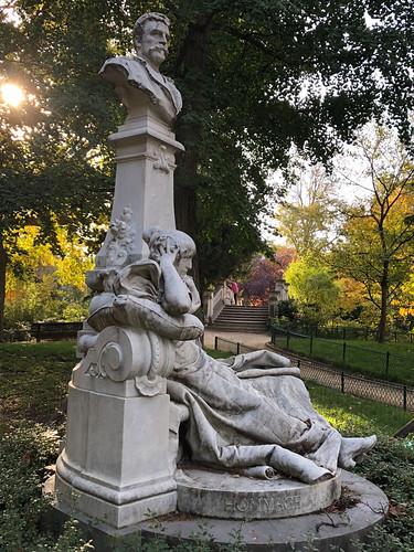Guy De Maupassant Statue by Verlet