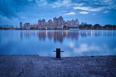At the break of dawn (Shutter wide shut) Tags: condo costarhu daybreak jetty kallangriver longexposure singapore sonyvariotessarfe1635f4zaoss sonya7r3 sonya7riii dawn