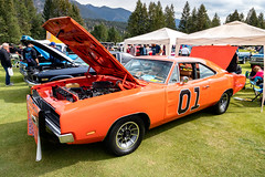 Obligatory Entry (Jerry Bowley) Tags: showandshine showshine carshow britishcolumbia car dukesofhazzard radium generallee columbiavalleyclassics charger dodge