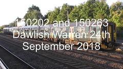150202 and 150263 (uktrainpics) Tags: 150202 150263 class 150 diesel unit dawlish warren
