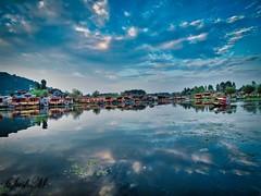 Dal-Lake (sush_04) Tags: kashmir srinagar dallake sky water