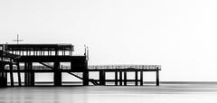 Deal-15 (RJ Photographic (1 million views Thank You)) Tags: 06 09 deal grads kent leefilters nd sun bigstopper longexposure pier seascape soft sunrise water