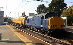 Passing at Manningtree (Chris Baines) Tags: 3761237607 network rail test train manningtree ga class 360 emu service london