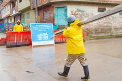 _MG_5553 (UNIDAD DE MANTENIMIENTO VIAL) Tags: lluvia carrera3econcalle40as41s sancristóbal lavictoria cambiodelosas obreros obrero 2018 octubre durante concreto