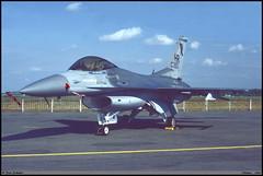 F16 C HR 84-1393 10TFS Chièvres juin 1987 (paulschaller67) Tags: f16 c hr 841393 10tfs chièvres juin 1987