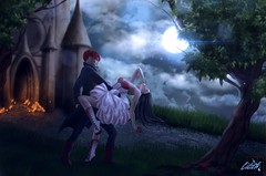 Moonlight_Waltz (Sinful.Lilith) Tags: moon dance waltz couple night simsart sims3