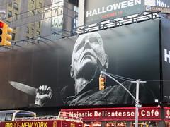 Halloween 2018 Movie Billboard 3143 (Brechtbug) Tags: halloween 2018 movie billboard horror film billboards nyc 10202018 new york city michael myers jamie lee curtis judith john carpenters no dr samuel sam loomis doctor adventure holiday 7th ave avenue 50th st street standee monster killer knife slasher 1978 was original 40 years ago