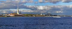St. Petersburg (janepesle) Tags: saintpetersburg russia architecture city cityscape urban outdoors travel санктпетербург путешествие пейзаж архитектура panorama water river sky
