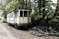 113 - spooky (mikehaui60) Tags: olympuspenepm2 pen epm2 lostplace spooky tram 113 highcontrast desaturated decay