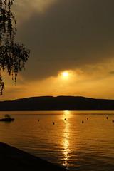 Zonsondergang. (limburgs_heksje) Tags: zwitserland schweiz swiss bodensee bodemmeer bodenseeregio hete dag