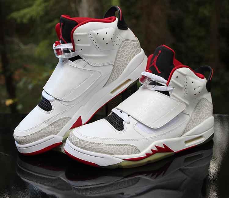 best cheap a38ad c82a7 Nike Air Jordan Son of Mars Fire Red White Black 512245-112 Men s Size 10
