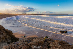 Sand Haven Beach (robinta) Tags: beach seascape ocean sand landscape tide waves water sigma sigma1770 canon 200d southshields england ngc rocks