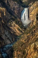 Lower Falls of Yellowstone River (Darek3010) Tags: yellowstone nationalpark vacations hike canon artistpoint waterfall lowerfalls