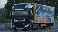D - Defru >Capri-Sonne< DAF XF 106 SSC (BonsaiTruck) Tags: defruy caprisonne daf lkw lastwagen lastzug truck trucks lorry lorries camion caminhoes