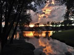 Reflection Pond sunset...Explored (Jane Lazarz Nature Photography) Tags: briargate reflectionpond briargatecoloradosprings janeelizabethlazarz walkingcolorado nikon p900 nikonp900 coloradosprings colorado janelazarz breathtakingcolorado sunset goldensunset sunsetreflectioninwater spectacular