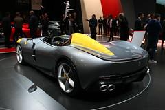 Ferrari Monza SP1 (Clément Tainturier) Tags: 2018 mondial de lautomobile paris motor show parismotorshow ferrari monza sp1 icona sp2 autoshow salon auto car supercars hypercars hypercar supercar voiture sport