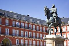 Felipe III (Madrid) (U2iano) Tags: plaza square mayor madrid felipe rey king españa spain