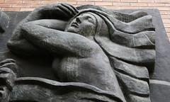 """One of the three muses - detail of """"Trois Muses, de la frise du Théâtre des Champs-Élysées, 1910-13 (Monceau) Tags: muse sculpturedetailtrois musesdetailfriezethéâtre des champsélyséesantoine bourdelle"""
