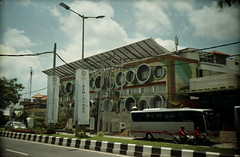 Welcome to Weird Bali (Ya, saya inBaliTimur (leaving)) Tags: filmcamera kamerafilm fujicolor200 bali jimbaran building gedung architecture arsitektur hotel