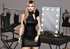 The Fashion Life (JarSephora) Tags: birdy reign clothinng rack sstudio set rare mannequin boudoir gacha table model vanity rowne kkenny rolands kr vera black fair noir store collabor88 collabor 88 c88 rbacelets lamour truth hair aislin blonde uber event catwa bentoo head maitreya lara mesh body secondlife second life sl style fashion fash female woman women virtual world