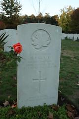 Full colour gravestone (kimberley07) Tags: brookwood woking surrey military cemetery grave autumn october remeberance