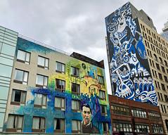 Art & History by ??? & ZZZAlwayZ (wiredforlego) Tags: graffiti mural streetart urbanart publicart manhattan newyork nyc zzzalwaysz