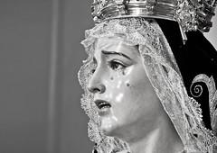 Dolores ([ ybam]) Tags: santa cruz hermandad martes santo sevilla semana cofrades cofradias dolores virgen