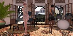 It's a 1920s jam! (Teddi Beres) Tags: second life sl heels friend charleston dance 1920 flapper shoes footwear clothes fashion style vintage fun jazz roaring