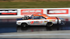 Dodge Dart_2860 (Fast an' Bulbous) Tags: racecar drag strip race track car vehicle automobile fast speed power acceleration motorsport santa pod outdoor nikon