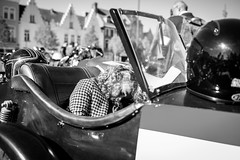(kef3005) Tags: the dististinguished gentlemans ride biker bikers meeting dgr fujixf23mmf14 fujixe1 belgium vintage bruges