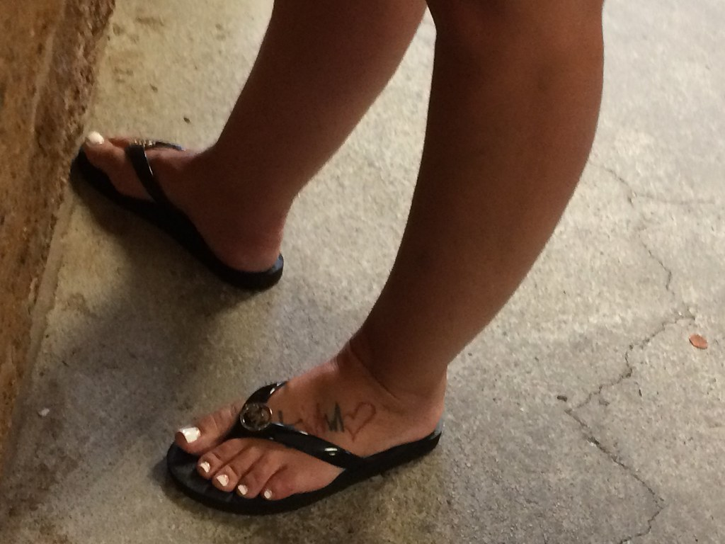 Milf hot french pedicure