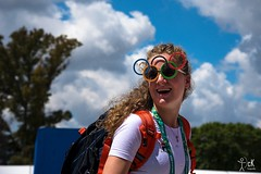 Portrait Holland, YOG2018. Buenos Aires, Argentina, archery. (christian_kollinger) Tags: young girl holland holanda olipiadas yog2018 buenosaires2018 tiroconarco glasses color colorido colorfull blonde portrait