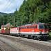 1142 667 + 1144 032 mit Güterzug, Breitenstein