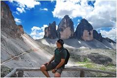 Tre Cime di Lavaredo (north side) (Cristiano Busato) Tags: 3cime 3cimedilavaredo dolomiti unesco trentino altoadige trentinoaltoadige montagne alpi alpiitaliane