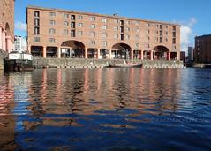 Albert Dock (.annajane) Tags: albertdock dock liverpool merseyside reflection water warehouse waterfront architecture uk england